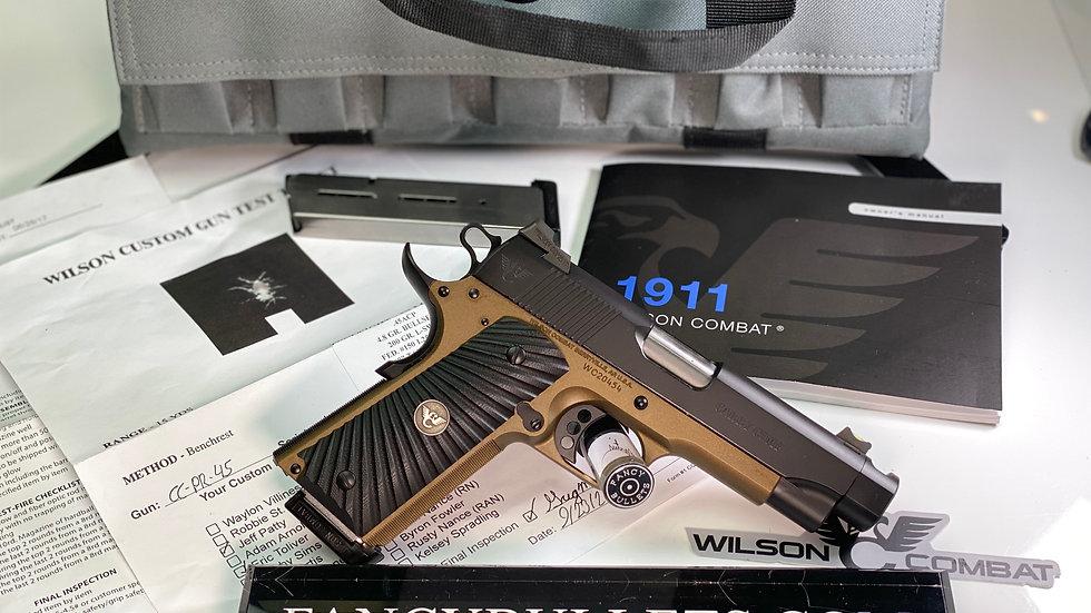 WILSON COMBAT Carry Comp, Professional, .45 ACP, Black/Burnt Bronze