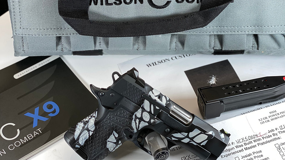 Wilson Combat EDC X9s, Non-Lightrail Frame, 9mm