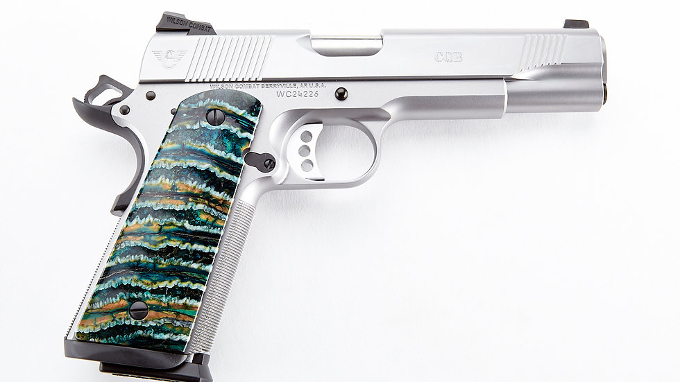 WILSON COMBAT CQB, Full-Size, .45 ACP, Stainless Steel