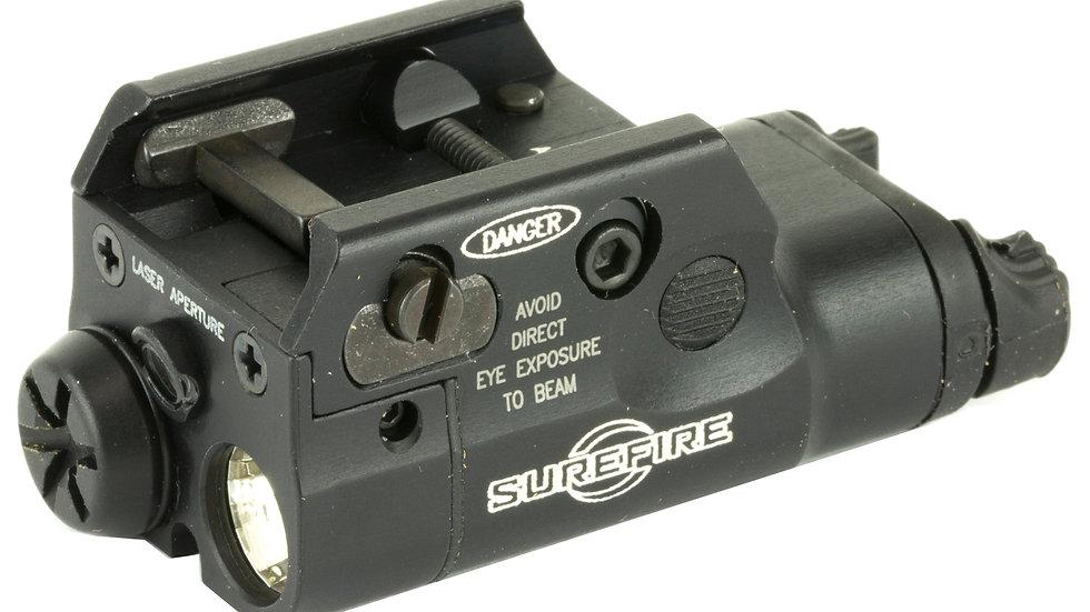 Surefire, XC2 Weaponlight, Pistol, 300 Lumen LED, Light/Laser Combo, Black
