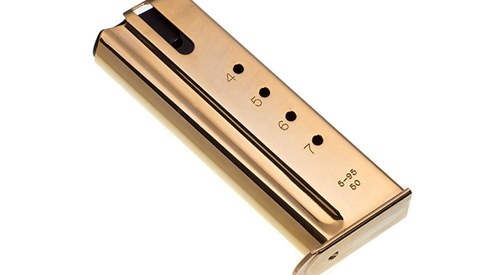 DE .50AE 24k Gold 7 Round magazine