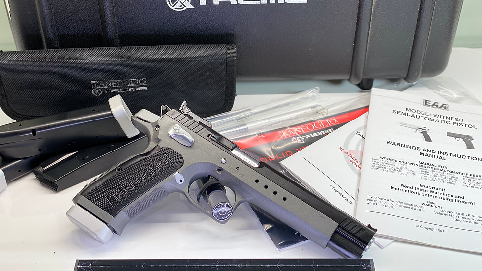 """EAA TANFO WITNESS XTREME MATCH 45ACP 6"""" 10RD"""