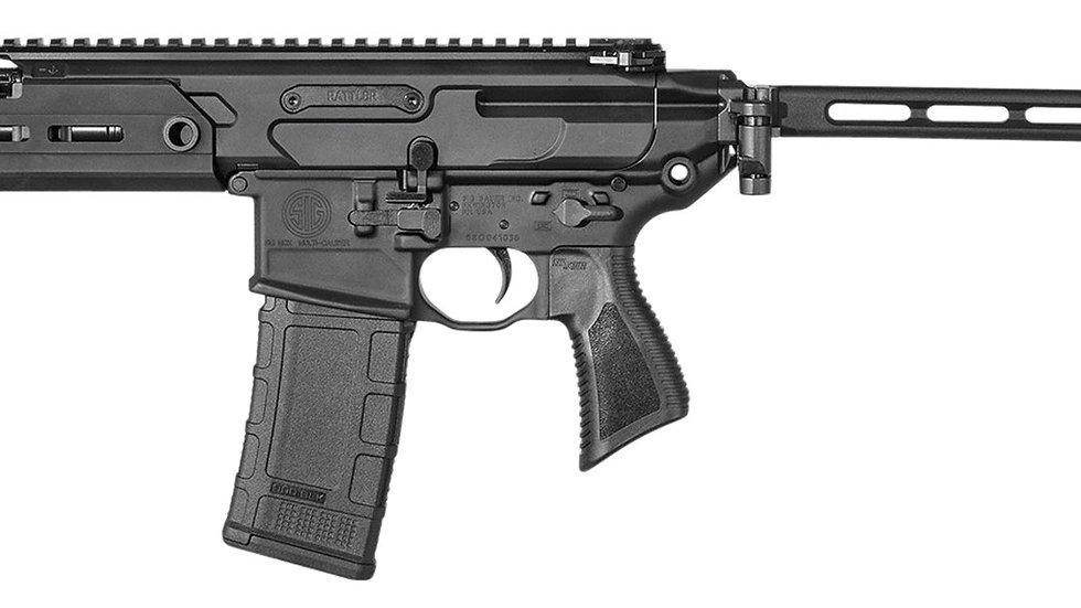 """Sig Sauer PMCX5BTAP MCX Rattler Pistol 5.56 NATO 5.50"""" 30+1 Black"""