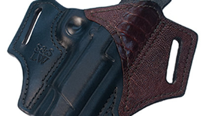 S&S Leatherworks Ostrich Holster