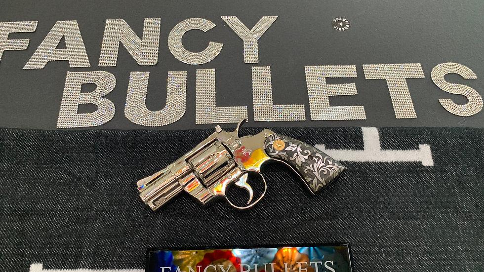 1976 Colt Python NICKEL 2.5in