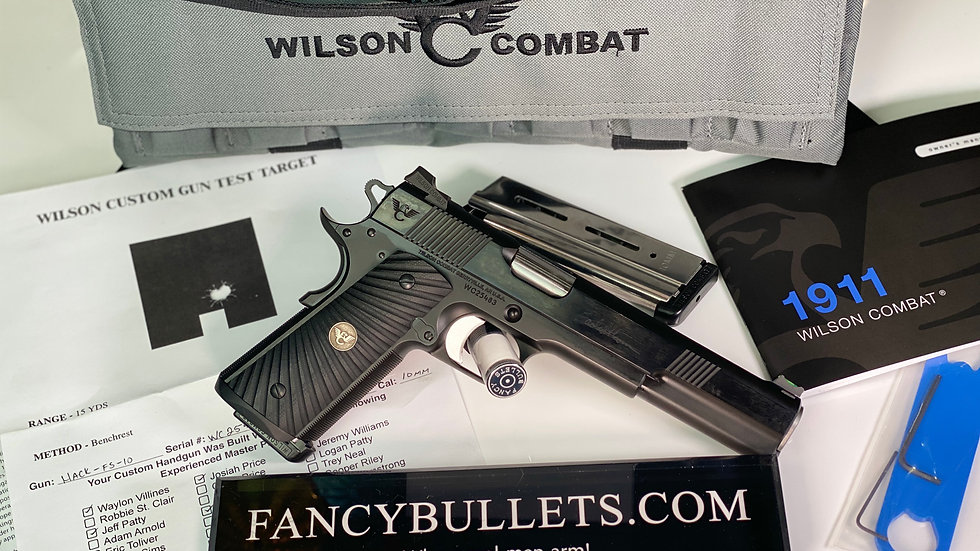 WILSON COMBAT Hackathorn Special, Long Slide, 10mm, Blue