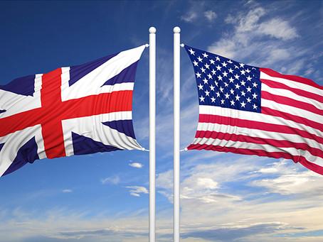 Quais são as diferenças entre o inglês britânico e o americano?