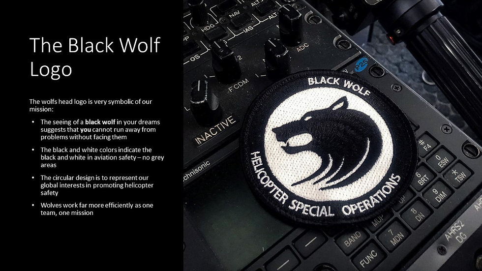 Black Wolf  HEMS Helicopter Crewman Esse
