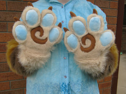 Toony Fursuit Paws