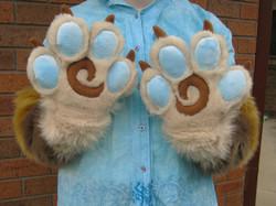 Toony Fursuit Paws