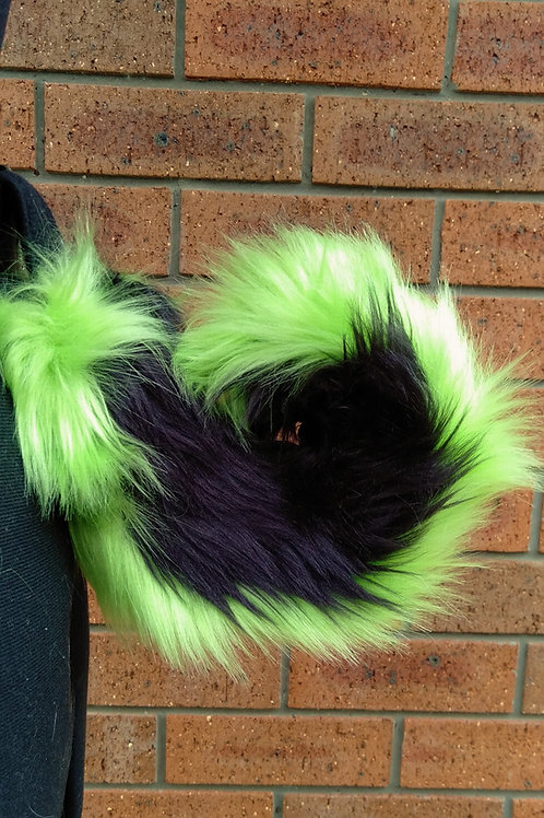 Green LED Husky Tail