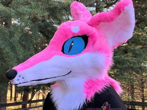 Snoot Fox Fursuit Head