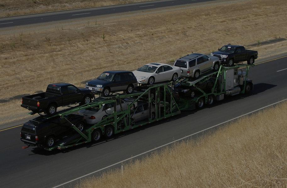 car hauler and shipper