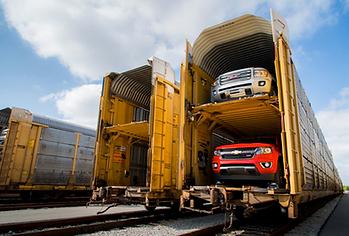 Auto Hauling train cargo