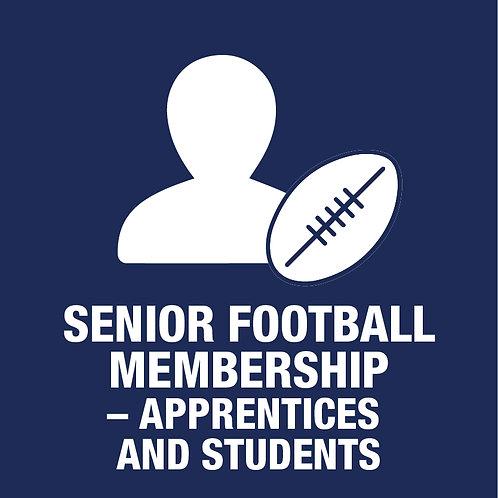 Senior Football Player - Membership -Apprentice / Student (Incl. GClub & Jumper)