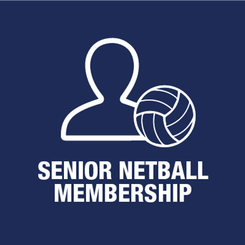 Senior Netball Player - Membership (Incl. Grand Club ticket & kit)