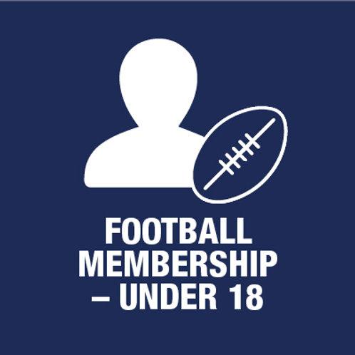 Under 18 Football Player - Membership