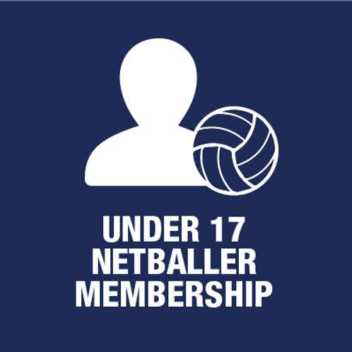 Under 17 Netball Player - Membership