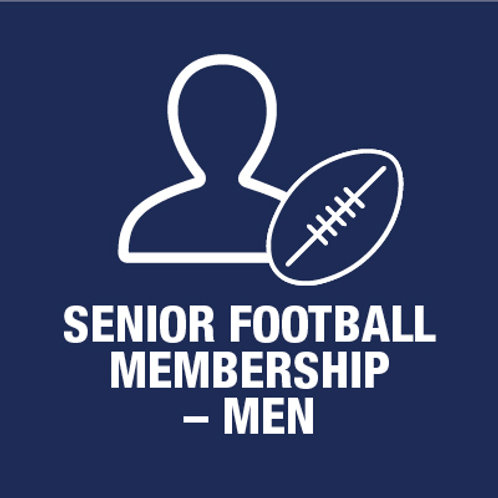 Senior Football Player - Membership - Men (Incl. Grand Club & Jumper purchase)