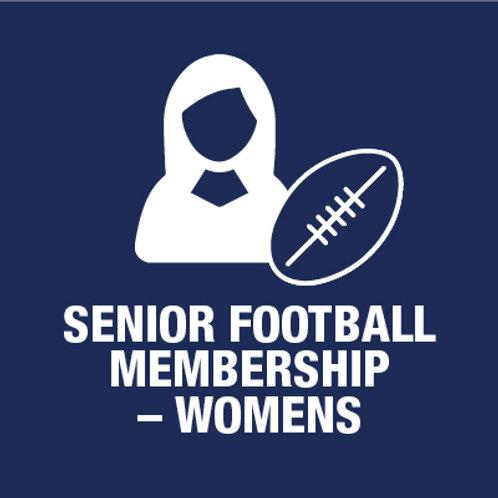 Senior Football Player - Membership - Women (Incl. Grand Club ticket)