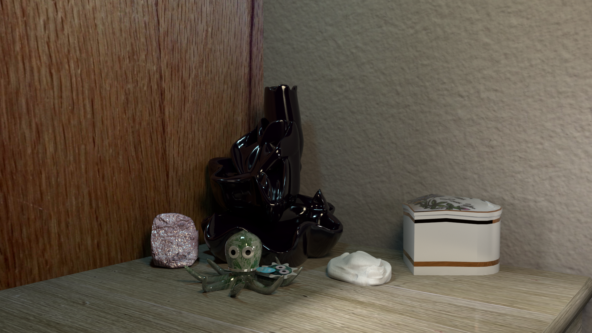 Nightstand Still-life