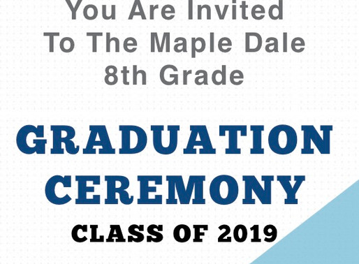 8th Grade Graduation Night