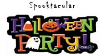 Halloween Spooktacular & Scholastic Book Fair is FRIDAY!!