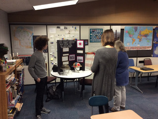 National History Day Presentations at Maple Dale