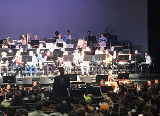 6th, 7th, and 8th Grade Band Concert at Nicolet