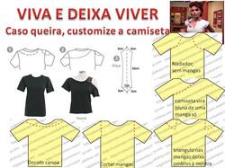 customize sua camiseta