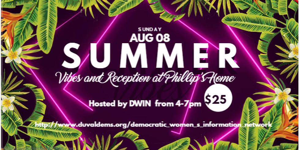 DWIN Members & Friends Summer Vibes & Reception