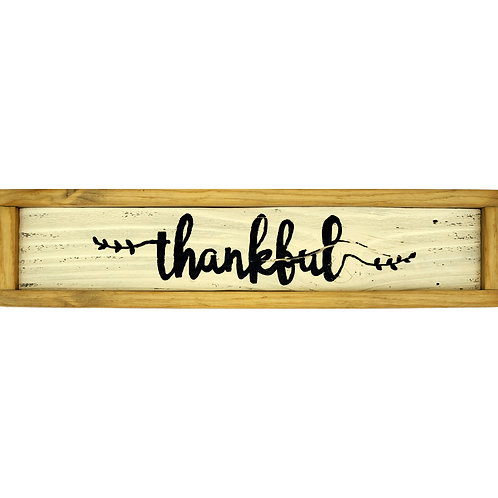 Home - Thankful sign