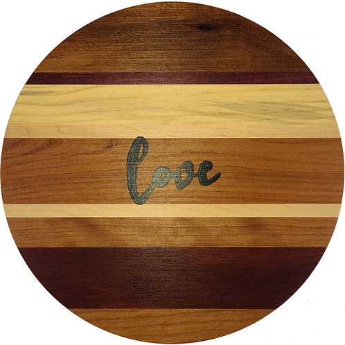 Home - Round Love sign