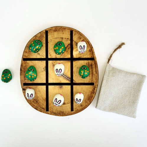 Game - Tic Tac Toe & Game of Stones - Bunnies and Frogs