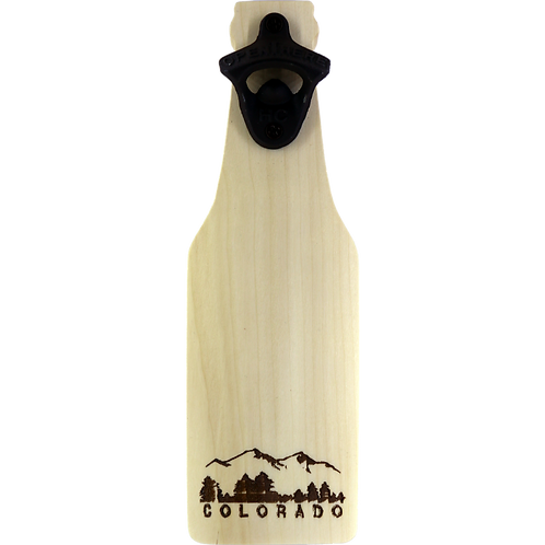 Colorado Bottle Opener (aspen)