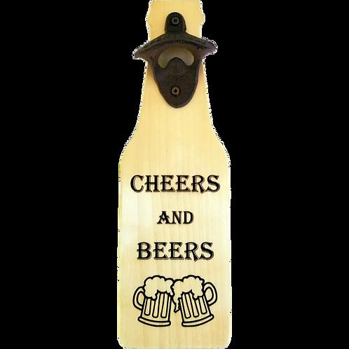 Cheers and Beers Bottle Opener (aspen)
