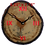 Thumbnail: Clock - Deep red textured stained glass in Aspen
