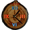 Thumbnail: Clock - Blue & orange stained glass in Aspen