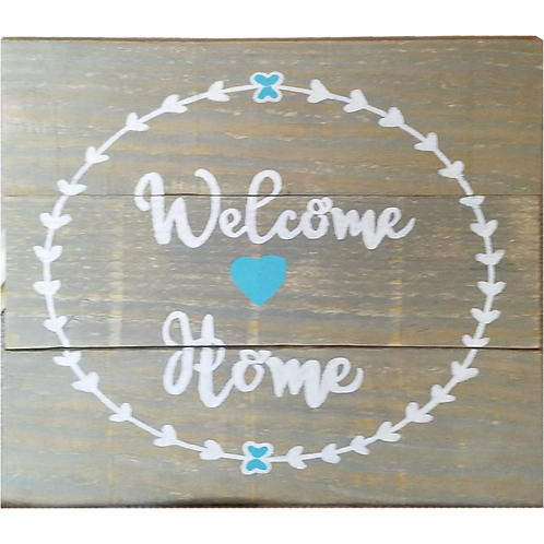 Home - Welcome Home sign