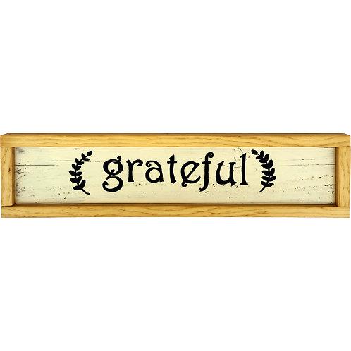 Home - Grateful sign