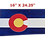 Thumbnail: Home - Wooden Colorado flag sign