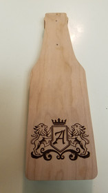 Custom Bottle Opener with Coat of Arms