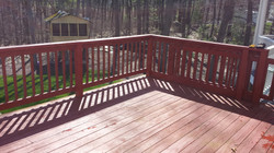 Deck & railing B