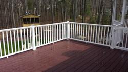 Deck & railing A