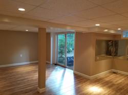 Finished basement A