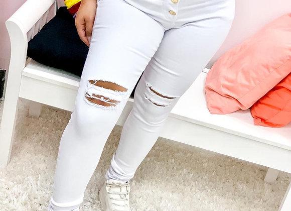 Calca Jeans Branca