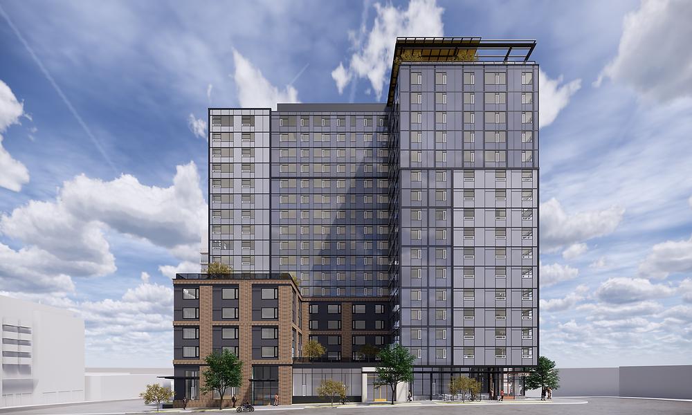 Rendering of Madison/Boylston c/o Weber Thompson Architecture