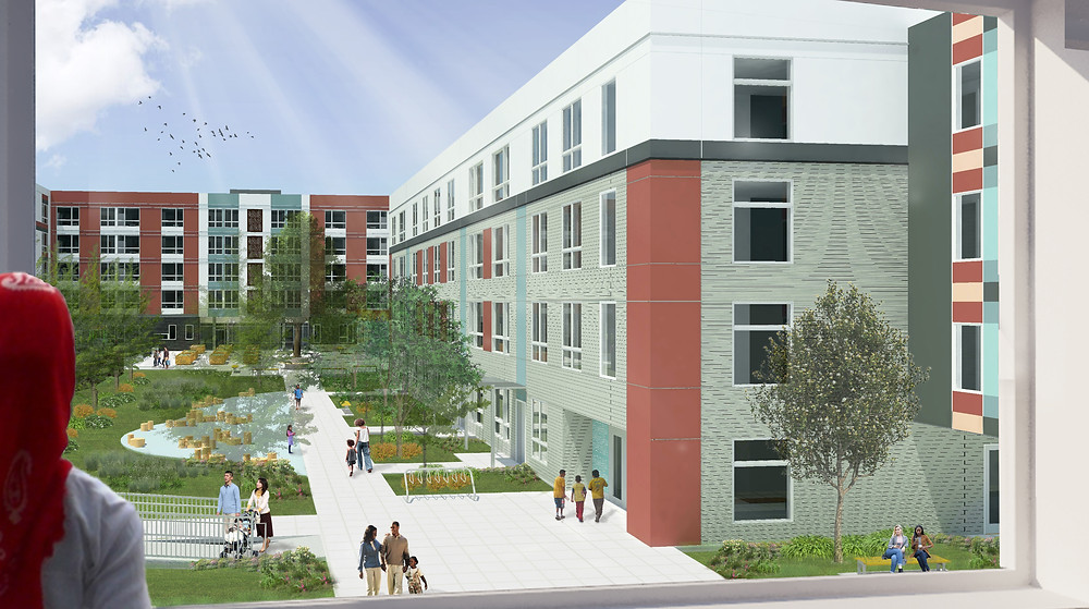 Rendering of Rose St II, c/o SRM Architecture
