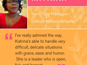 """Celebrating Katrina! """"My passion is mentoring others."""""""