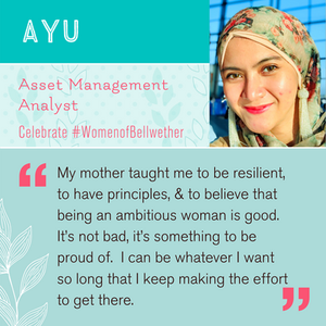 "Celebrating Ayu: ""My mother taught me that being an ambitious woman is good"""
